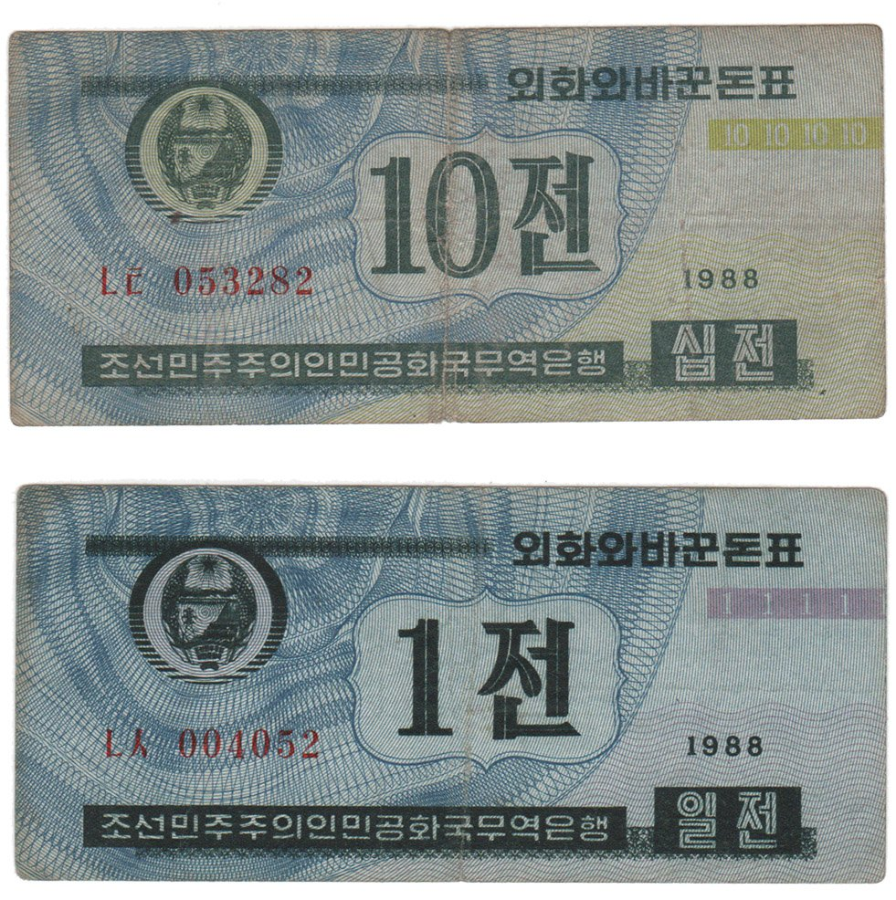 DPRK Exchange Money